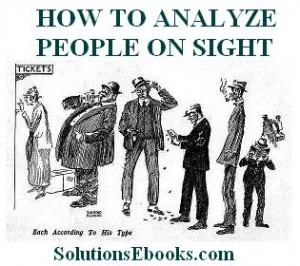 How to Analyze People on Sight_Elsie Benedict