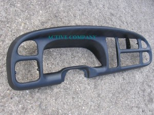 1998 1999 2000 2001 Dodge ram 1500 - 2002 2500 3500 Dashboard Bezel aftermarket