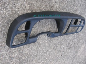 1998 1999 2000 2001 Dodge ram 1500 - 2002 2500 3500 Dash board Bezel abs plastic