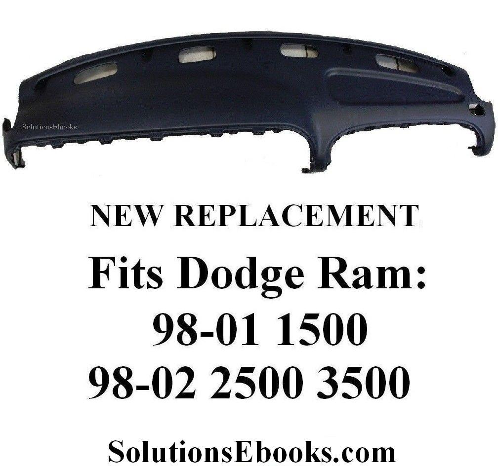 Dodge Credit Card >> Buy 1998-2001 Dodge Ram 1500 Replacement Dashboard Top Dashpad Fiberglass – 1998-2002 Dodge Ram ...