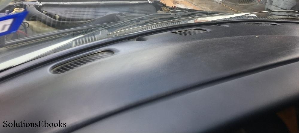 1998 1999 2000 2001 Dodge Ram 1500 Dashboard Top Dashpad Fibergl Replacement Installed 2002 2500