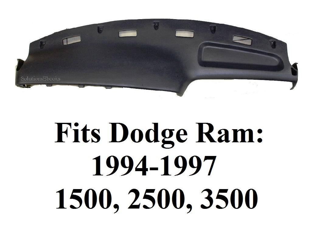1994 1995 1996 1997 Dodge Ram 1500 2500 3500 Replacement Dashboard Top Dashpad I Panel